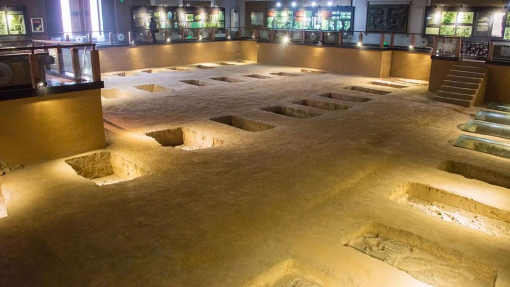 Захоронения человеческих жертв эпохи Шан в Иньсюй. Фото: beibaoke/LiveScience